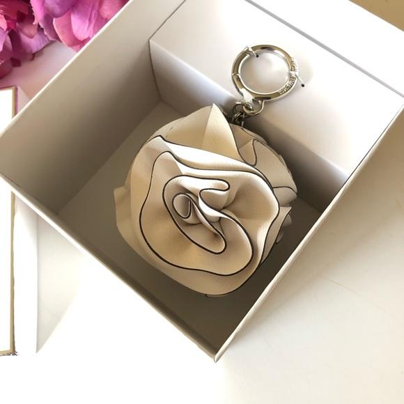Michael Kors Handbags - Micheal Kors Leather Flower Ruffle Pom Charm